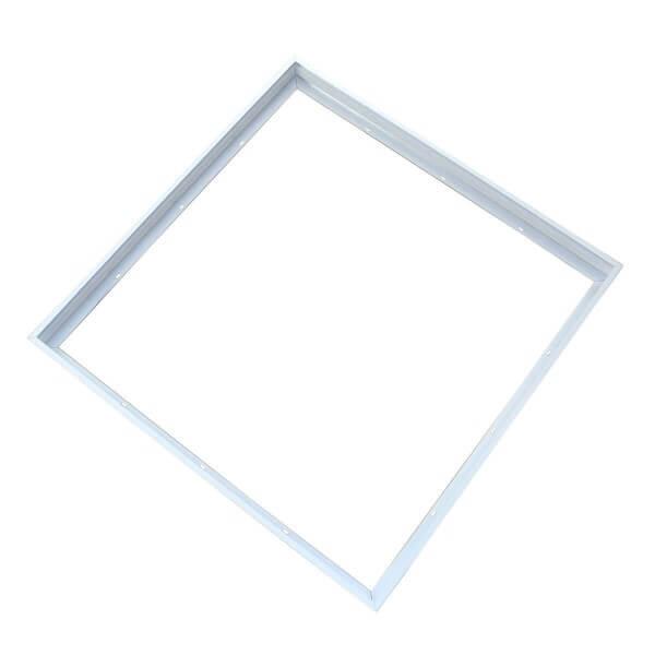 Aufputz-Rahmen für LED Panel mit Klick-System (62 cm x 62 cm)