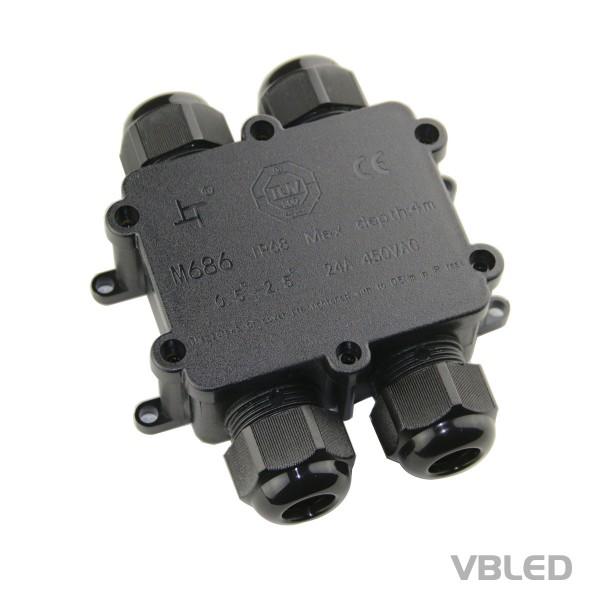 4-Wege-Kabelverbindungsbox