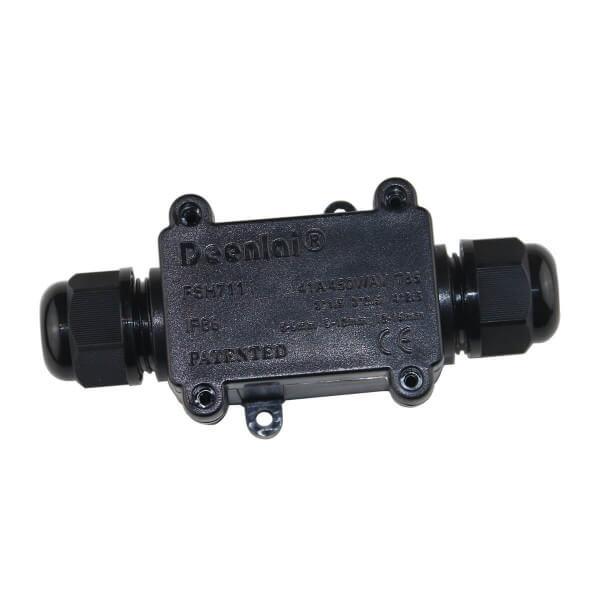 2-fach Kabel-Verbindungsbox inkl. Schnellverbinder IP66