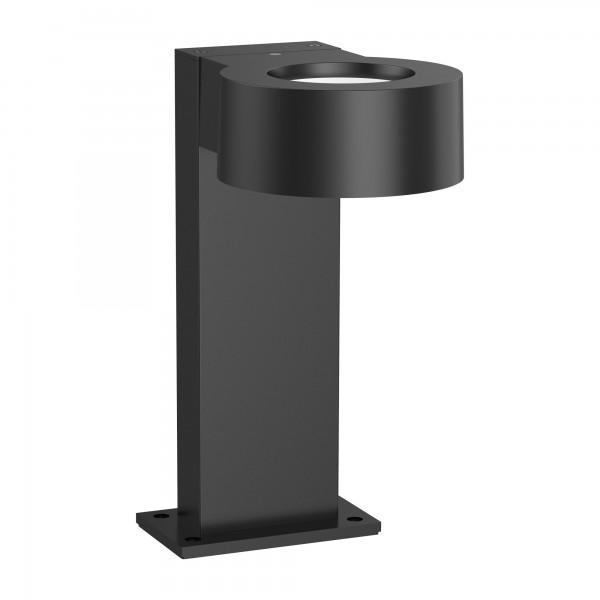 8W LED Wegeleuchte Pollerleuchte schwarz 30 cm