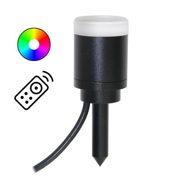 VBLED RGB+W LED Gartenleuchte 1W 12V AC IP68