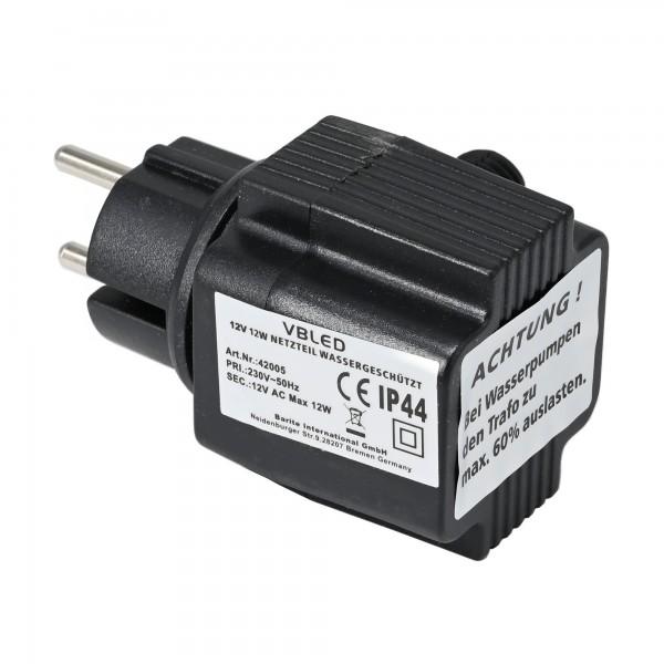 Außen Steckernetzteil Konstantspannung / 12V AC / 12W / IP44
