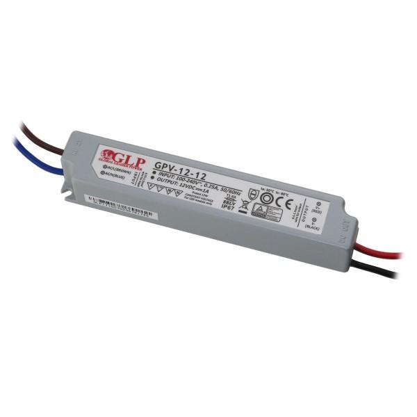 LED Netzteil Konstantspannung / 12V DC / 12W